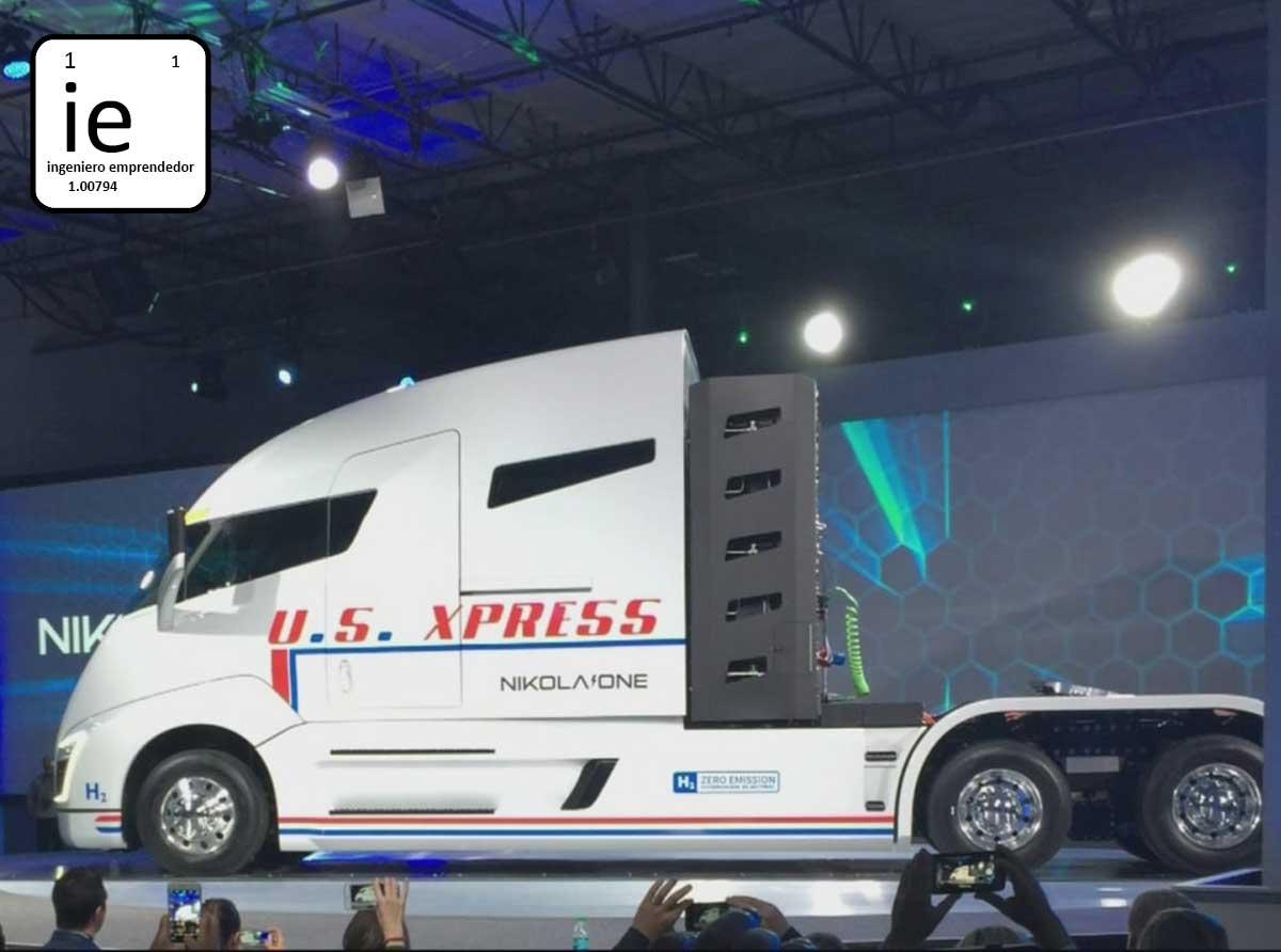El futuro de los grandes camiones pasará por el hidrógeno pronto