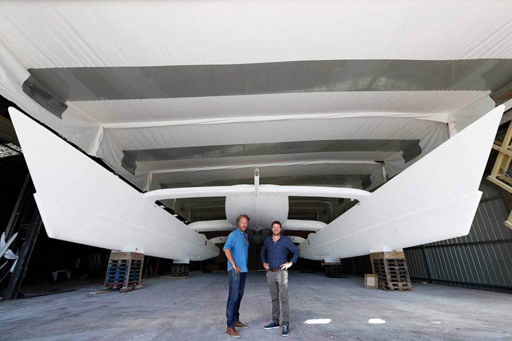 El primer barco velero de hidrógeno en el mundo