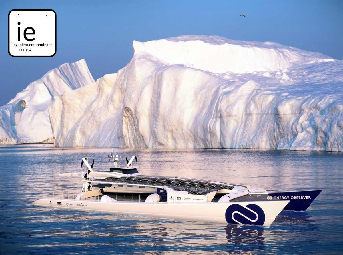 El primer barco de hidrógeno del mundo.