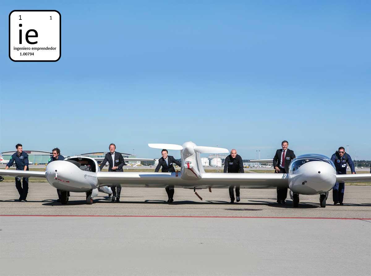 Motor de hidrógeno en el futuro del vuelo: