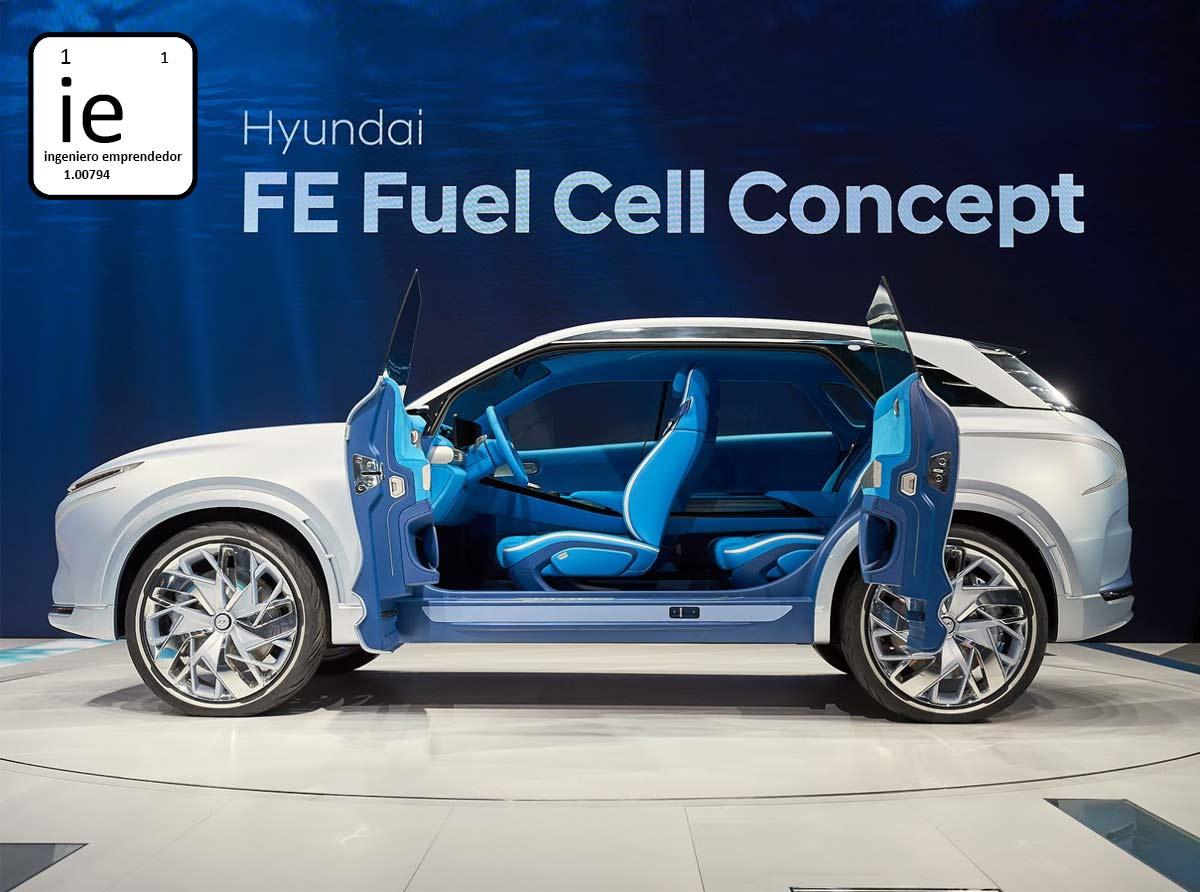 Hyundai Develó: nuevo vehículo con pila de hidrógeno