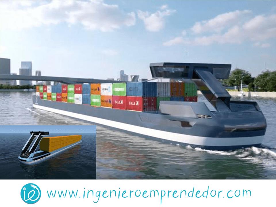 ¿Los buques de carga interiores deberían usar hidrógeno?