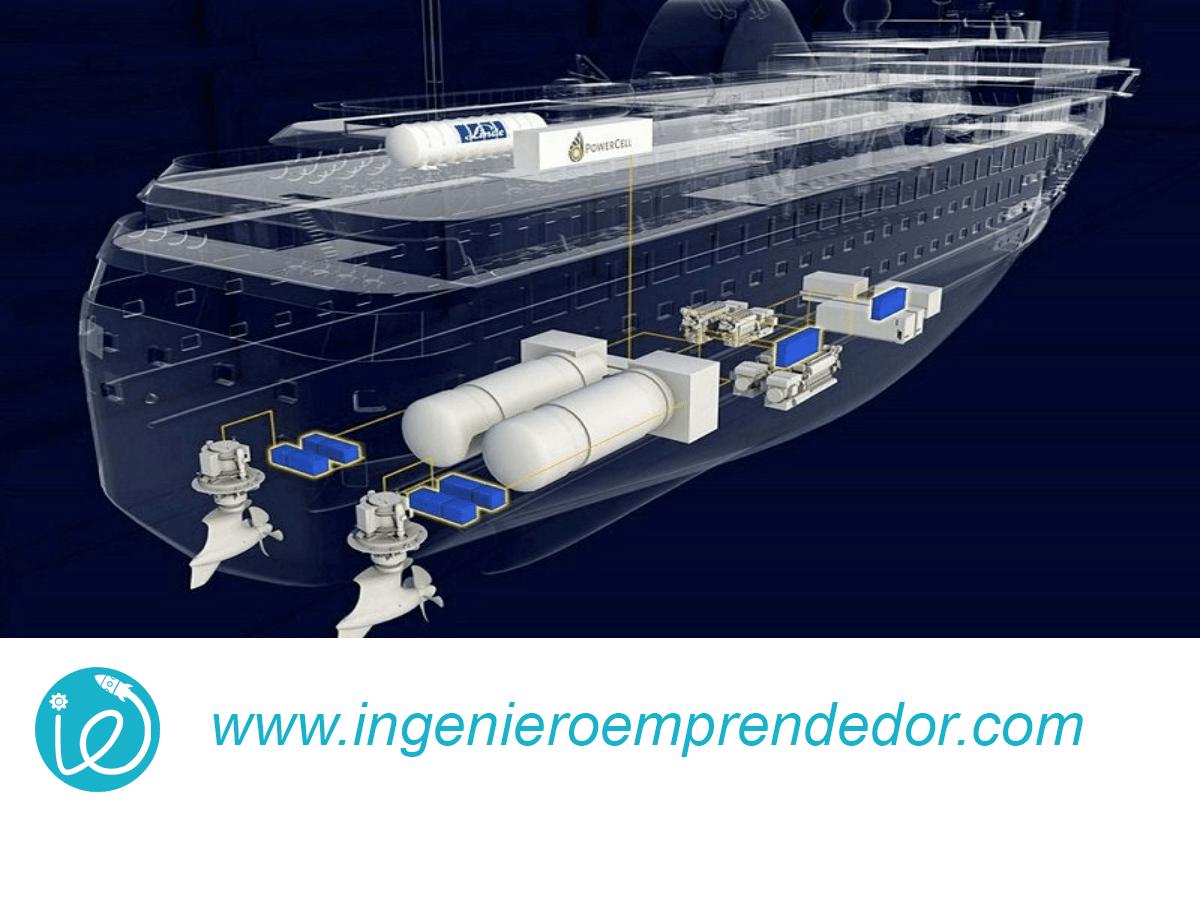 El primer gran ferry de gas puede comenzar a navegar en el Reino de Noruega en 2021