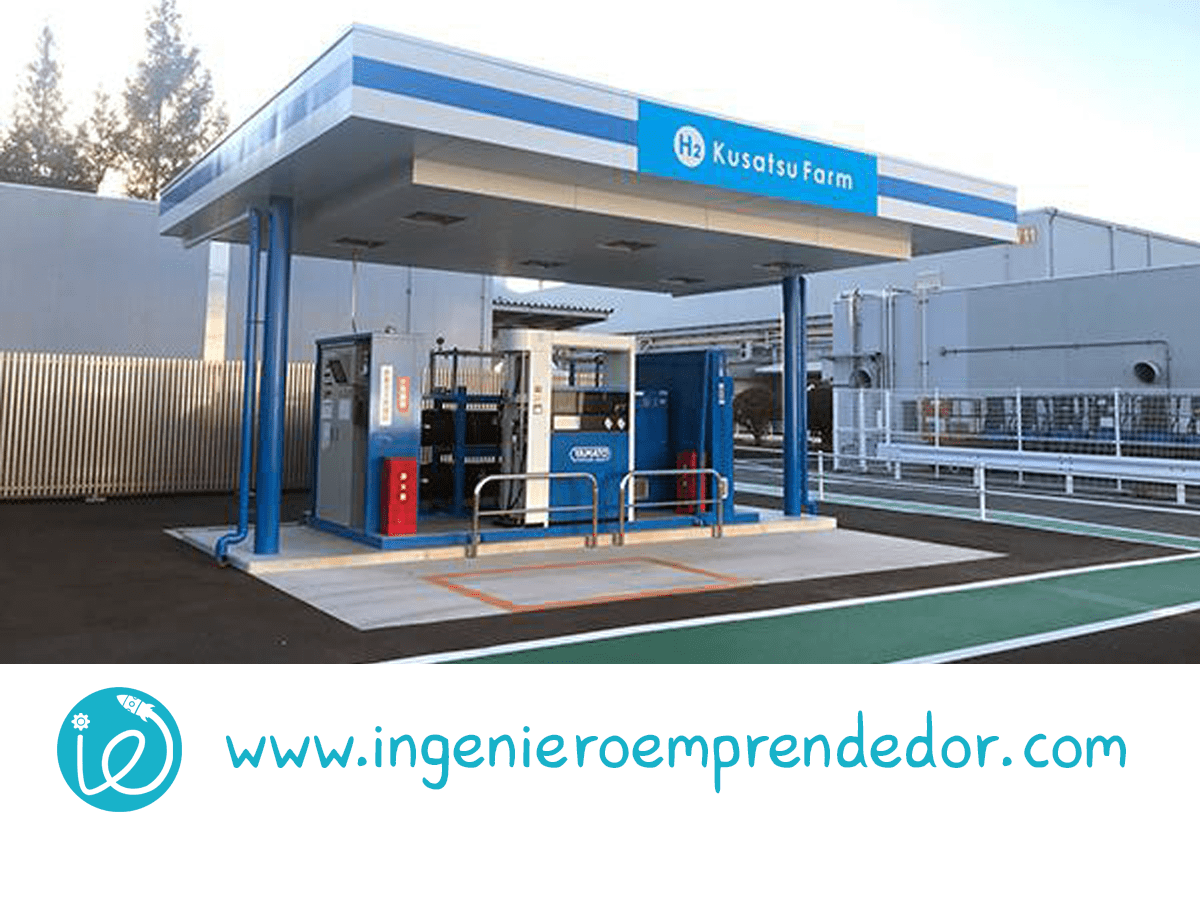 """La hidrógenera de Panasonic """"H2 Kusatsu Farm"""" está actualmente en funcionamiento."""