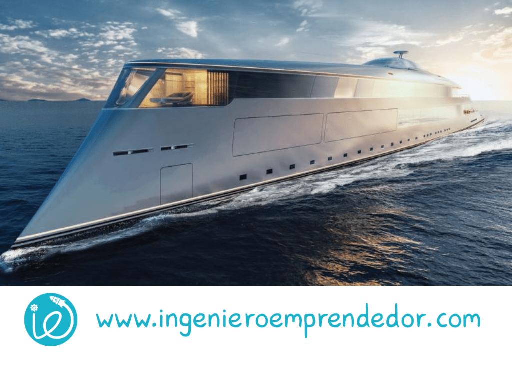 ¿Es este buque impulsado por hidrógeno el superyate del futuro?