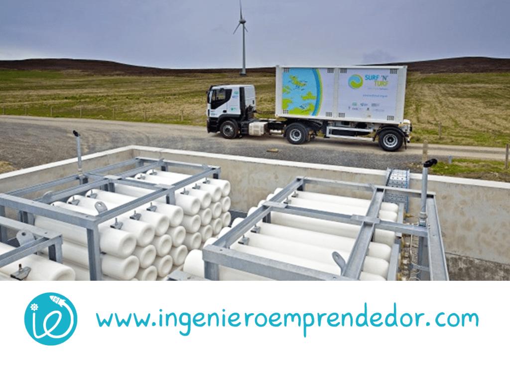 Escocia prueba el potencial de hidrógeno